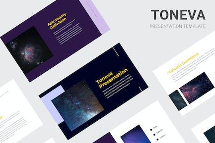 Toneva - Aprender Sobre Astronomía Keynote