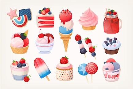 July desserts