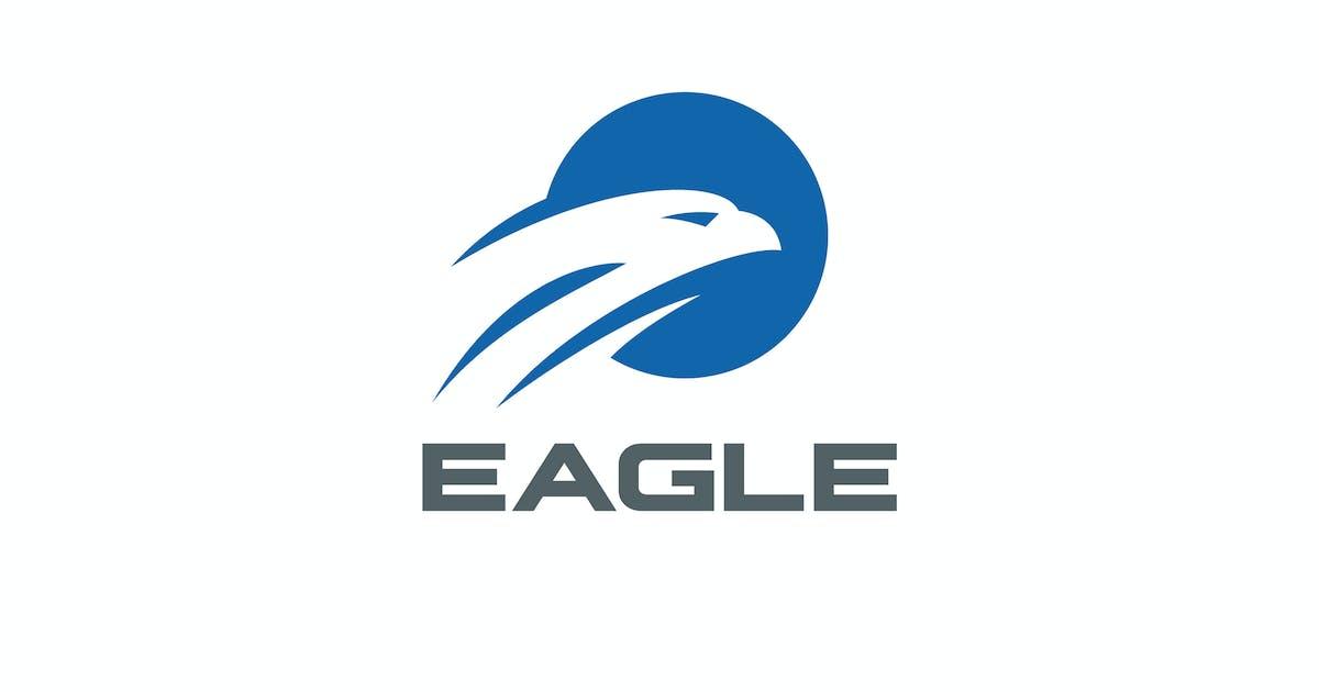 Download Logo Eagle Falcon Circle Abstract by Sentavio