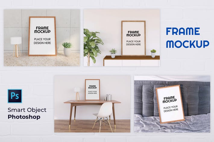 Thumbnail for Frame Mockup Collection - Nuzie