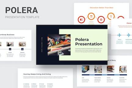 Polera - Timeline Infographics Powerpoint