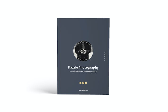 Thumbnail for Dazzle Photography A4 Brochure