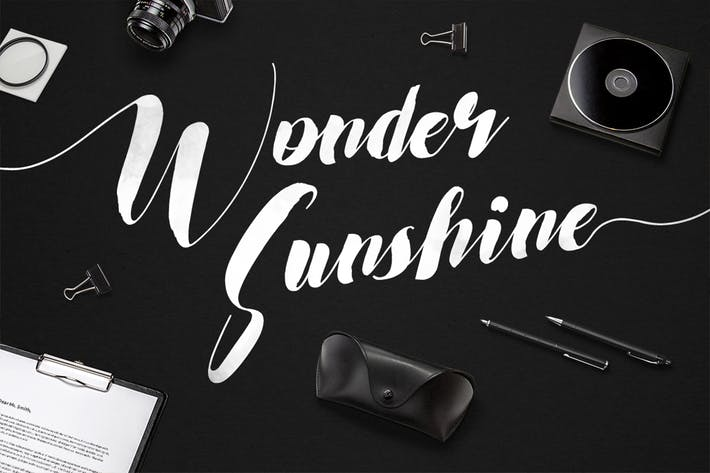 Thumbnail for Wonder Sunshine Typeface