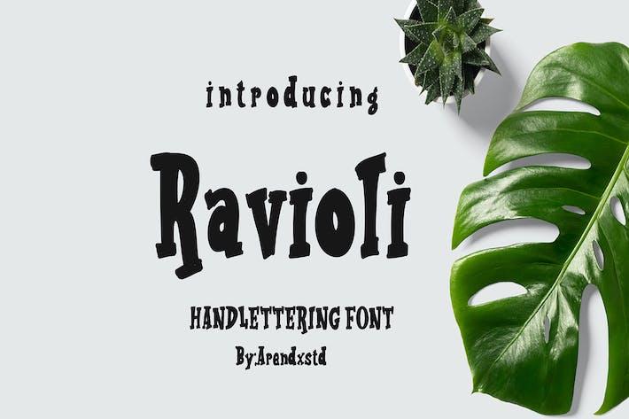 Ravioli Display Font 2 Style