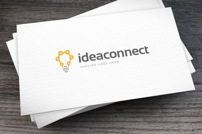 Thumbnail for Idea Connect Logo Template