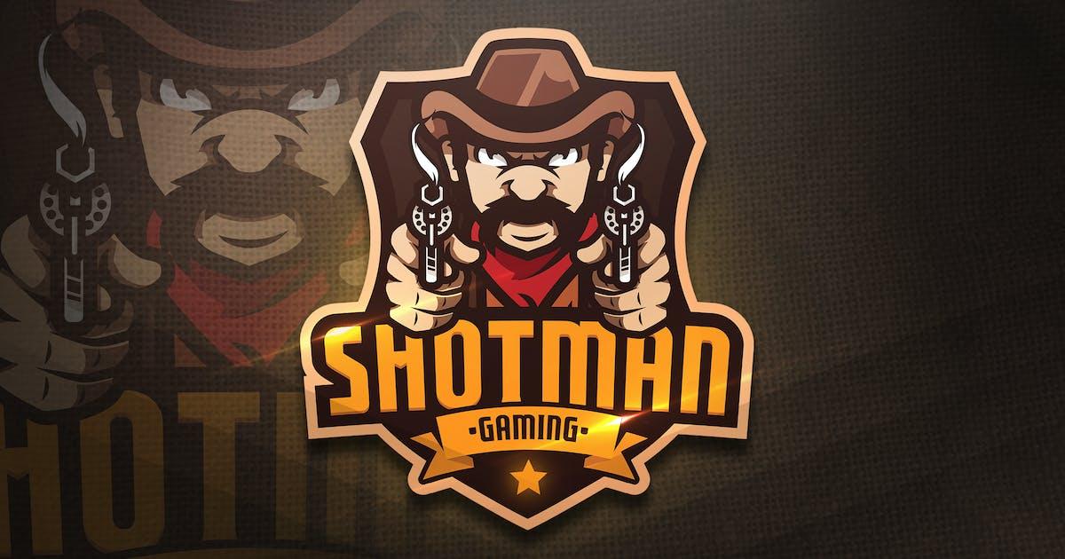 Download Shotman Gaming - Mascot & Esport Logo by aqrstudio
