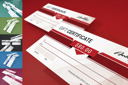 Colorfull Gift Certificate