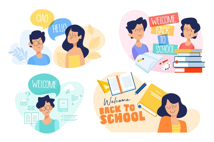 Thumbnail for Education illustrations