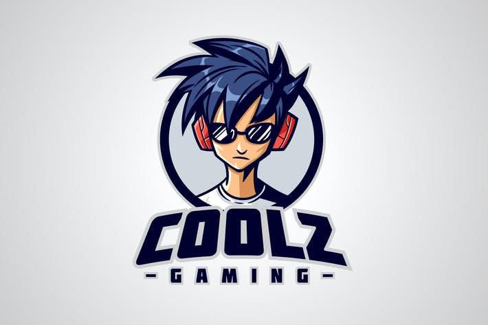 Thumbnail for Cool Gamer Character Mascot Logo