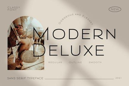 Modern Deluxe Elegant Business Font