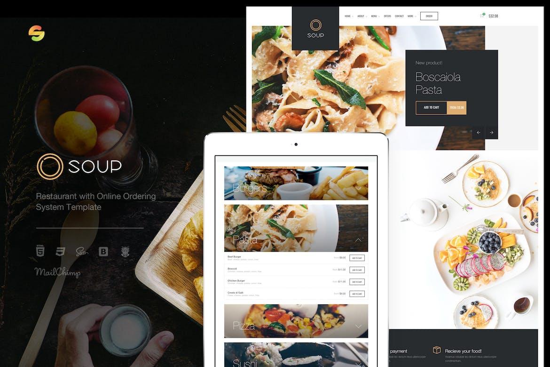 Download 16 Pizza Website Templates - Envato Elements