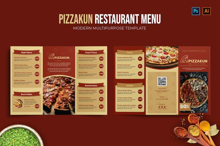 Pizzakun - Restaurant Menu
