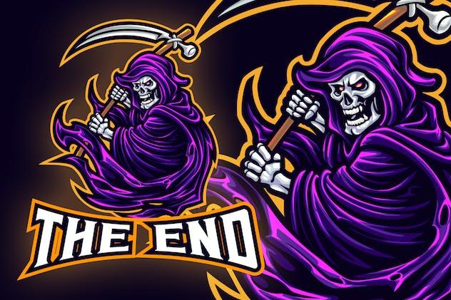 Grim Reaper Mafia Esport Logo