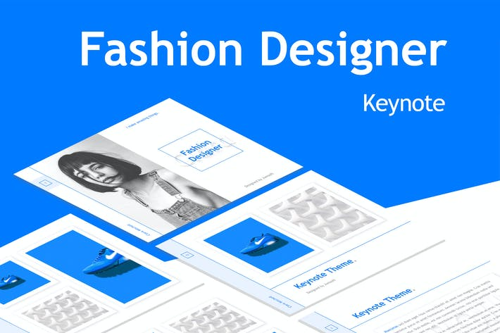 Thumbnail for Fashion Designer Keynote Template