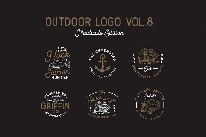 Cover Image For Outdoor Logo Vol.8