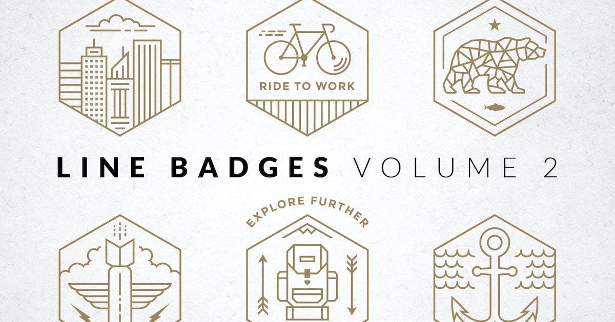 Line Badges - Volume 2 by adrianpelletier