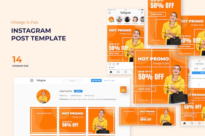 Thumbnail for Instagram Post Template - [code OP]