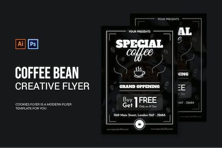 Coffee Bean - Flyer