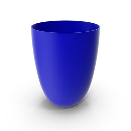 Plastic Cup Blue