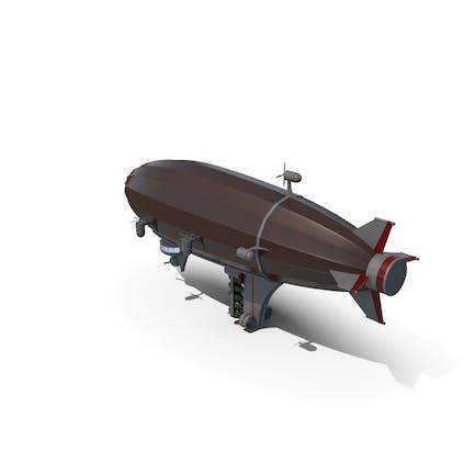 Dibujos animados Militar Zeppelin