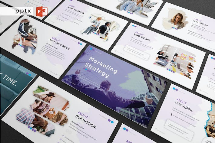 Thumbnail for MARKETING STRATEGY - Powerpoint  V284