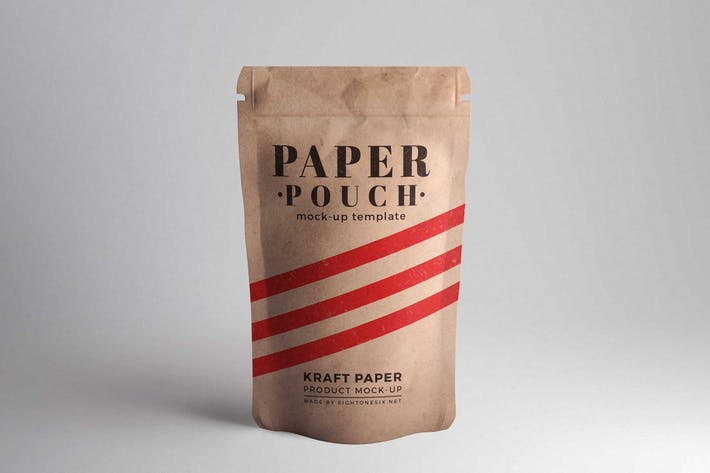 Thumbnail for Paper Pouch Product Mock-Up