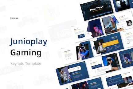Junioplay Gamers Keynote Presentation Template