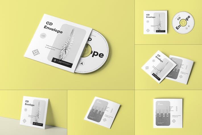Thumbnail for CD Envelope Mock-up 2