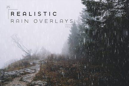Realistic Rain Overlays Vol. 1