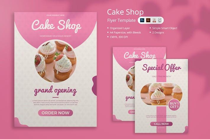 Cake Shop Flyer