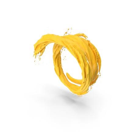 Yellow Vortex Tunnel