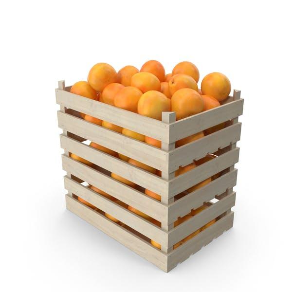 Деревянные ящики с грейпфрутами