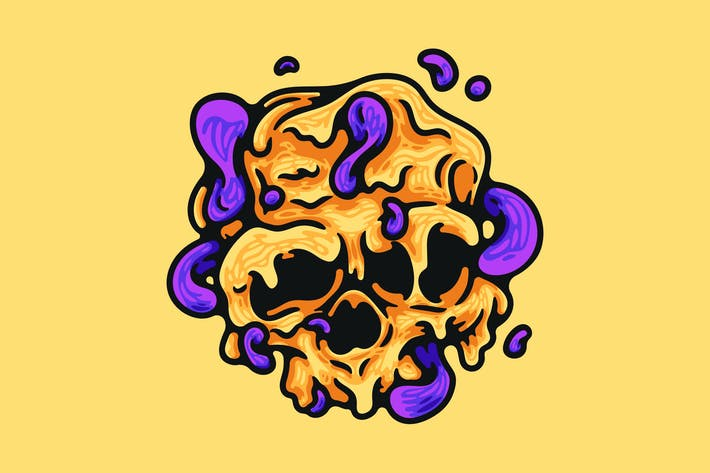 Thumbnail for Melted Skull
