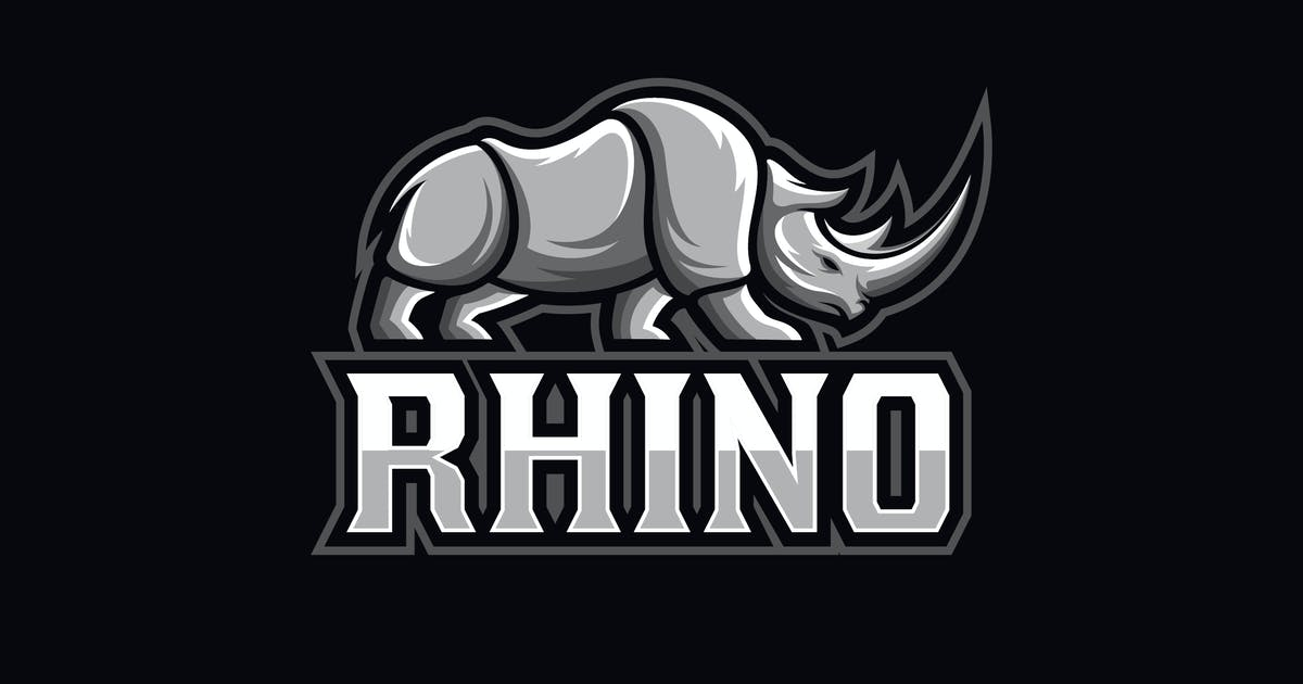 Download Strong Rhinoceros Logo by Suhandi