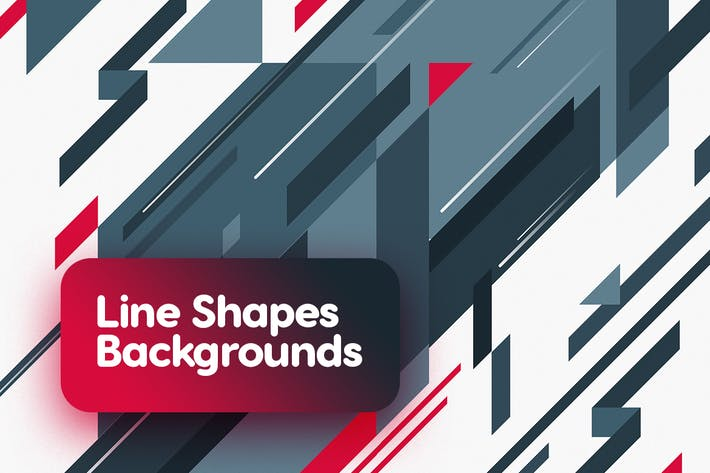 Thumbnail for Abstract Flat Line Shapes Backgrounds