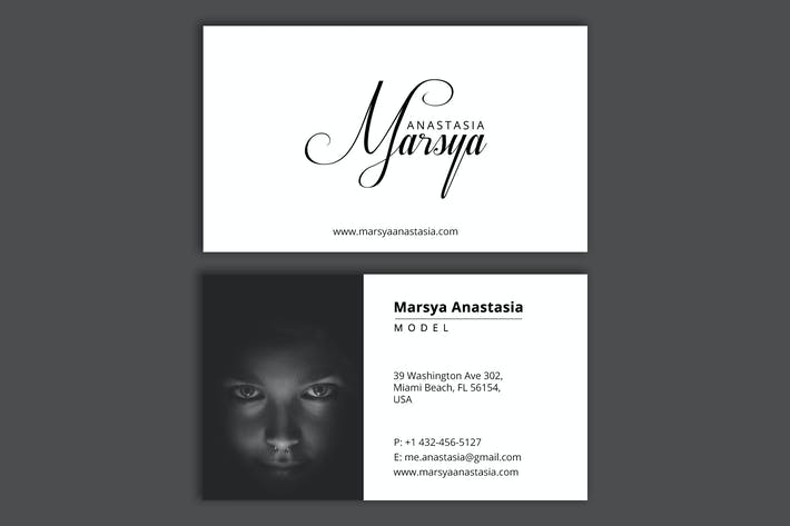 Thumbnail for Personal Branding (model) - Business Card