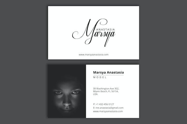 Thumbnail for Persönliches Branding (Modell) - Visitenkarte