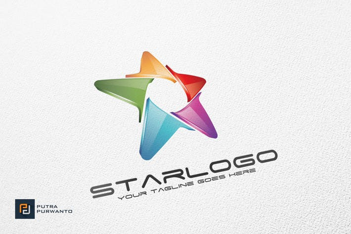 Thumbnail for Star - Logo Template