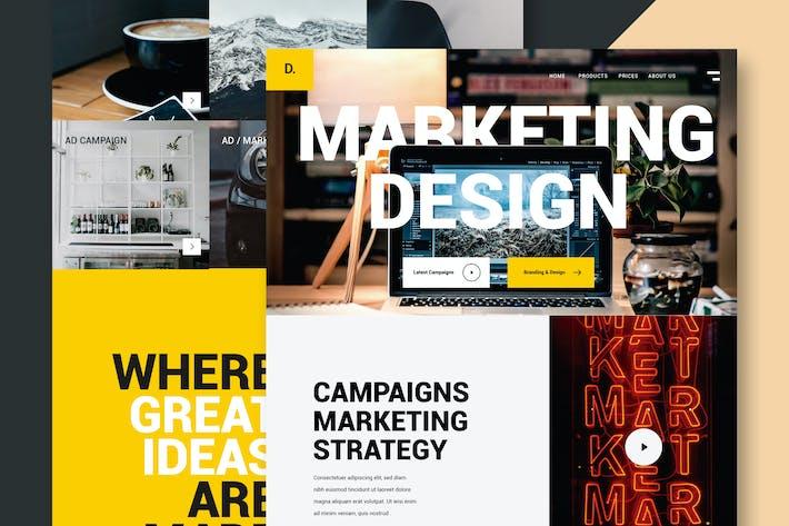 Thumbnail for Marketing & Design - Website