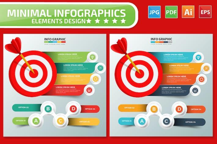 Thumbnail for Target Infographics design