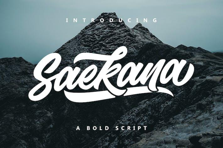 Thumbnail for Saekana Script