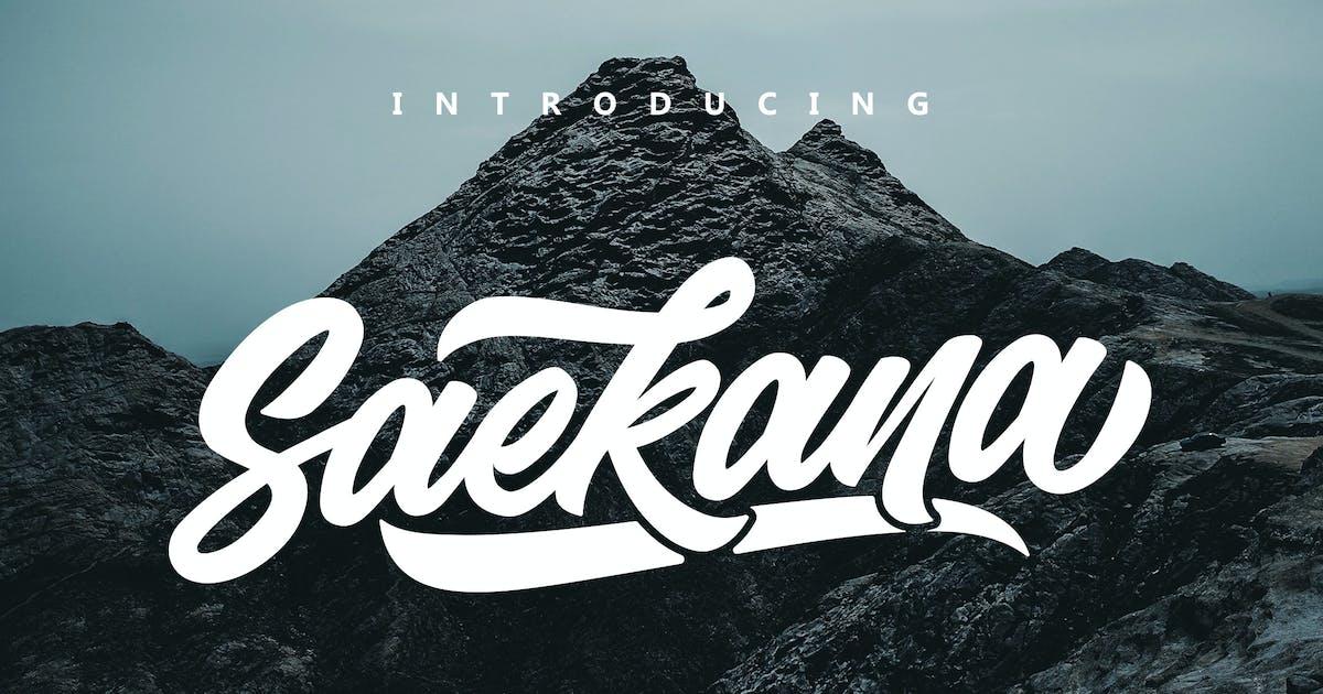 Download Saekana Script by Sizimon-id