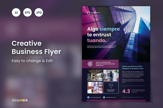 Creative Business Flyer 34 - Slidewerk