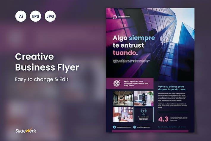 Thumbnail for Creative Business Flyer 34 - Slidewerk