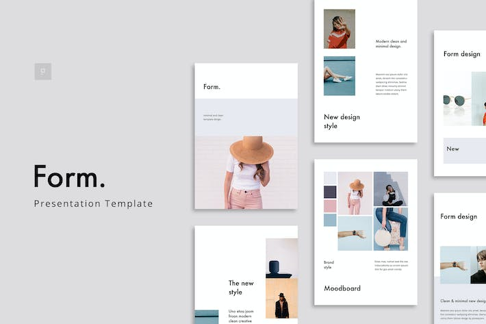 Thumbnail for FORM - Keynote Vertical Template Presentation