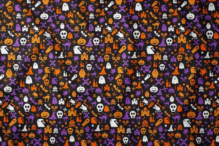 Bright Halloween Seamless Pattern