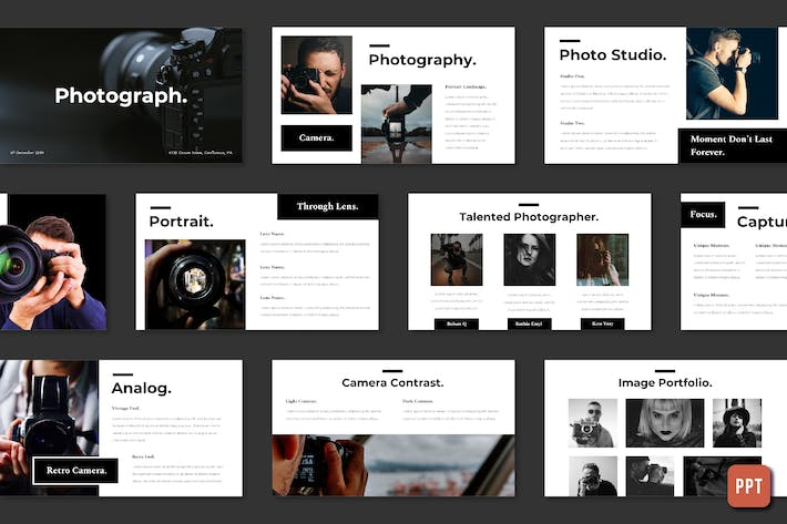 Thumbnail for Photography - Powerpoint Template