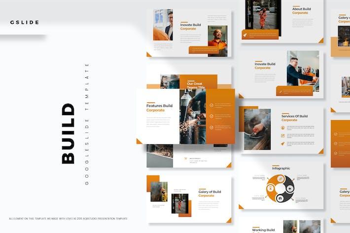 Thumbnail for Builds - Google Slide Template