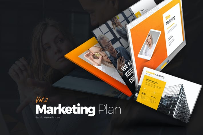 Thumbnail for Marketing Plan Vol 2 Google Slides
