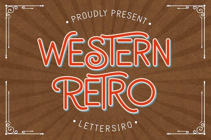 Thumbnail for Retro occidental